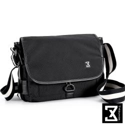 74盎司 滾邊設計側背包(小)[G-976]黑