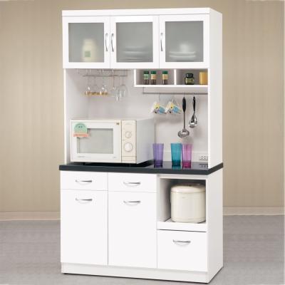 【CASA卡莎】明石家4尺簡約石面收納餐櫃