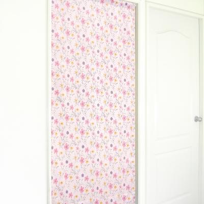 布安於室-花之梅遮光風水簾-粉色