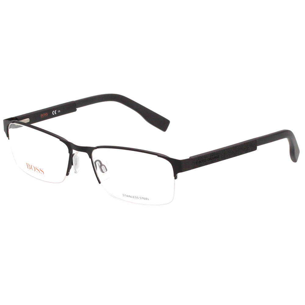 BOSS 半框 光學眼鏡 (黑色)BO0296F @ Y!購物