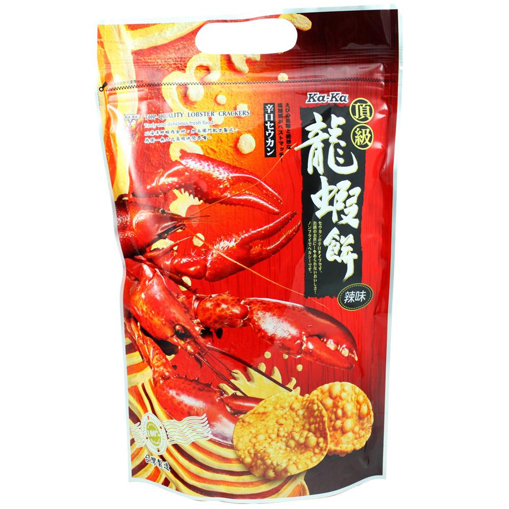 KaKa 頂級龍蝦餅-辣味(90gx4包)