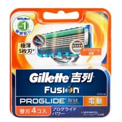 吉列無感系列動力刀片(4片裝)