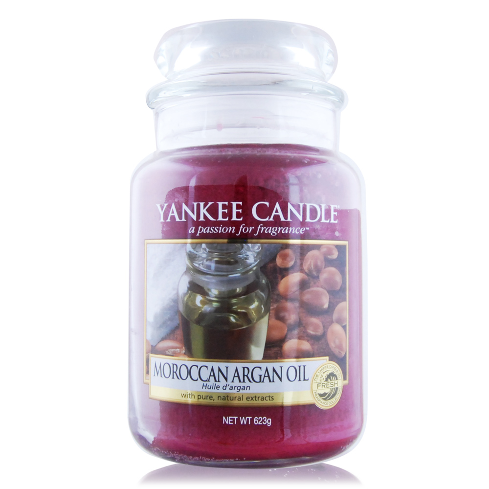 YANKEE CANDLE 香氛蠟燭-摩洛哥阿甘油623g