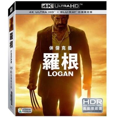 羅根 LOGAN UHD+BD (四碟限定版) 藍光 BD