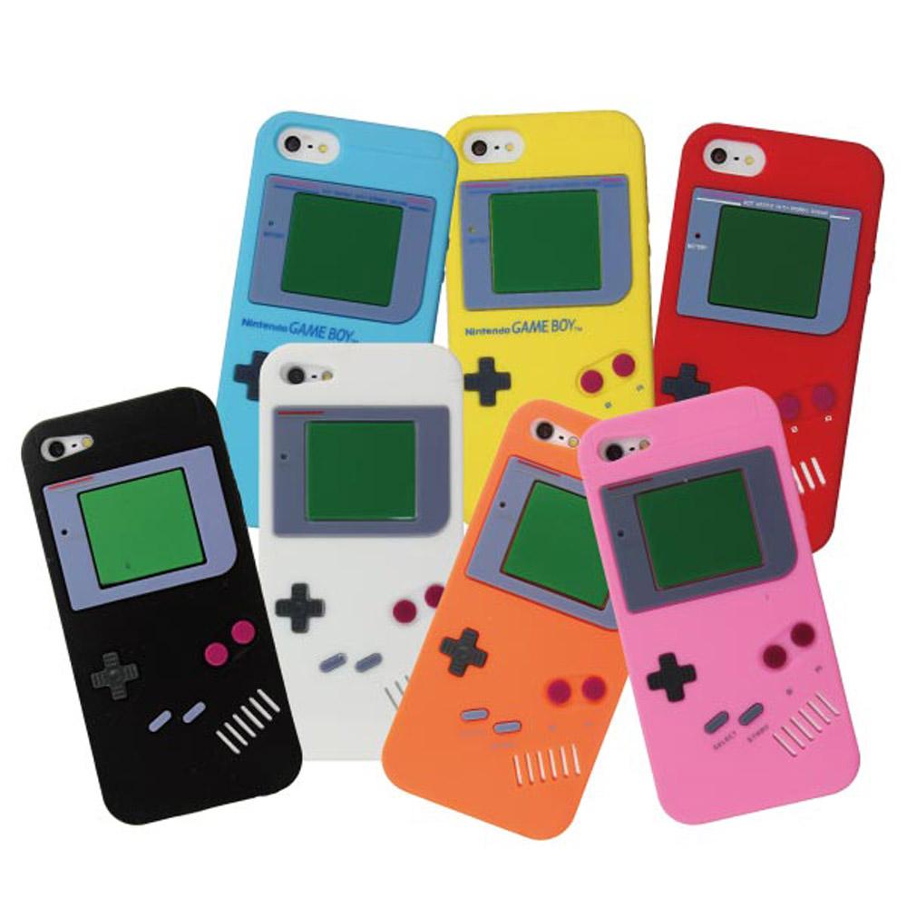 ZIYA IPHONE 5/5S/SE 矽膠保護套 - 仿Game Boy 復古款