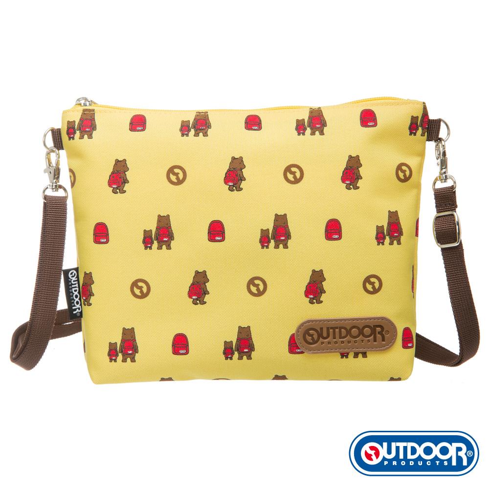OUTDOOR-有BEAR而來系列-斜背包-黃 ODS162B04YL