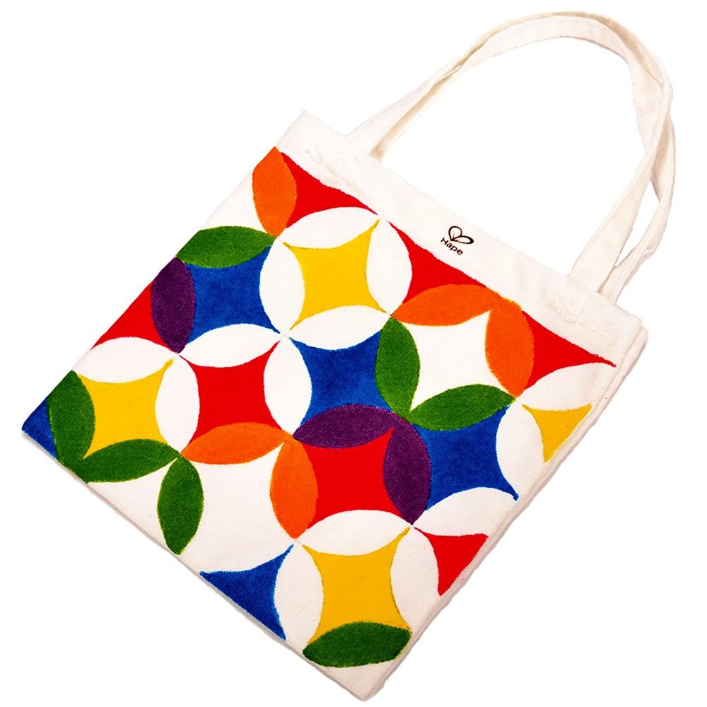 德國Hape愛傑卡 木製工藝系列-提袋彩繪