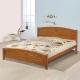Homelike-夏爾實木床架-雙人加大6尺-不含