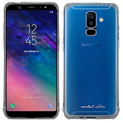 Metal-Slim Samsung Galaxy A6+ 2018 防摔抗震空...