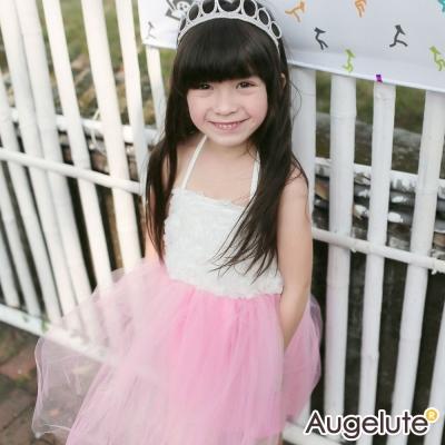 baby童衣 洋裝 細肩綁帶造型花朵紗紗裙42152