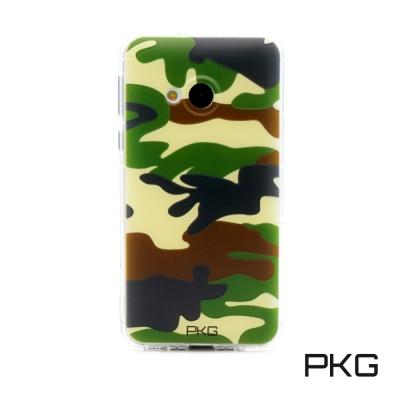 PKG HTC DESIRE 828彩繪空壓氣囊保護殼-浮雕彩繪-軍事迷彩