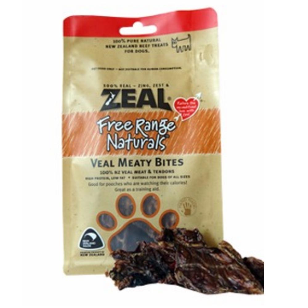 岦歐ZEAL 紐西蘭天然寵物食品《帶筋牛肉》125g