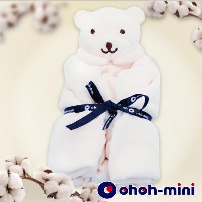 ohoh-mini有機棉熊熊安撫巾