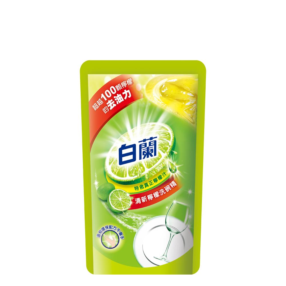 白蘭 動力配方洗碗精補充包(檸檬)800g