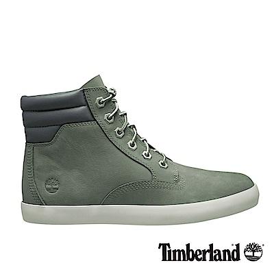Timberland  女款中灰色正絨面皮革Dausette運動靴