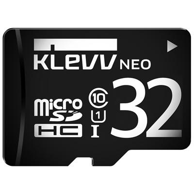 KLEVV 科賦 NEO microSDHC UHS-I 32GB 記憶卡(附轉卡)