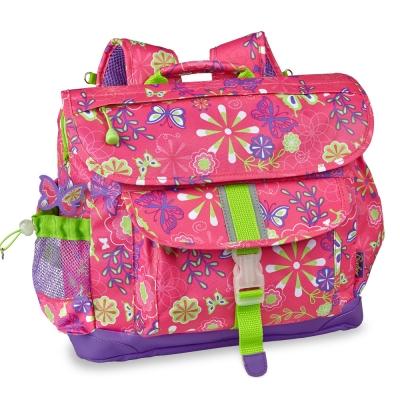 美國Bixbee - 迷彩系列彩蝶花園大童輕量減壓背書包