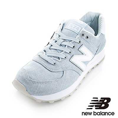 New Balance 574運動鞋-女WL574CHF灰藍