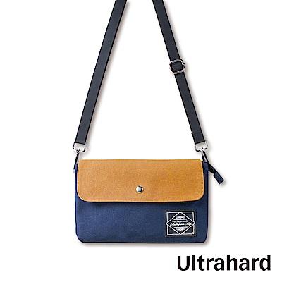 Ultrahard Masterpiece Map 雙層斜背包-土黃藍