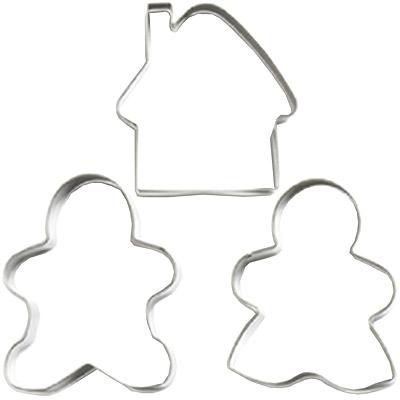 EXCELSA 餅乾模3件(薑餅人)