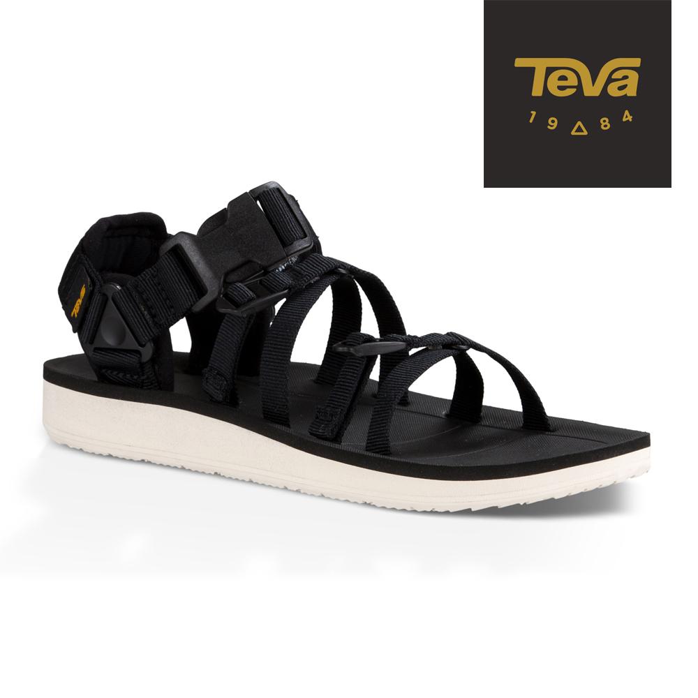 TEVA 美國 女 Alp Premier 機能運動涼鞋 (黑)