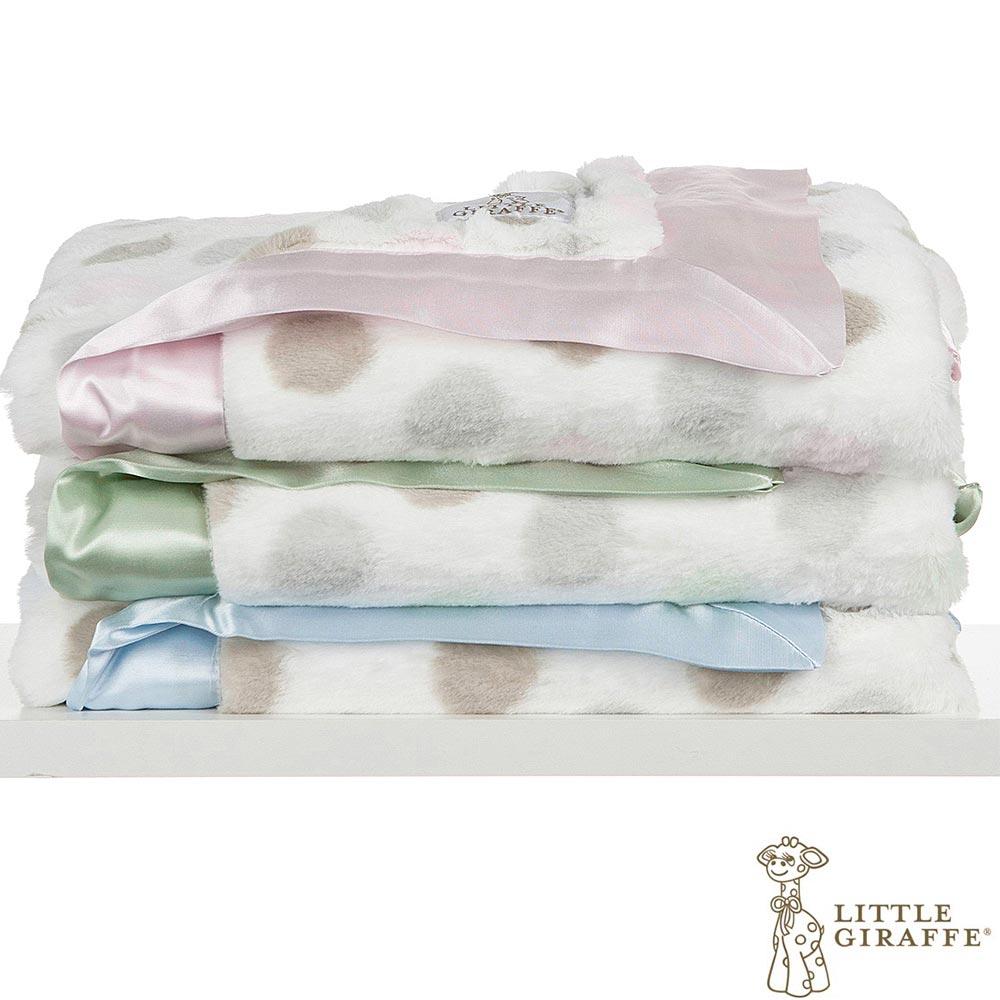 Little Giraffe 豪華系列彩色點點款嬰兒毯