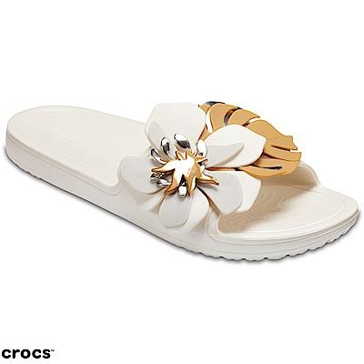 Crocs-卡駱馳-女鞋-思瓏花朵涼拖-20525