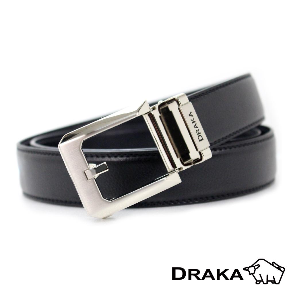 DRAKA 達卡 - 圓弧簡約型自動帶皮帶(41DK5313)