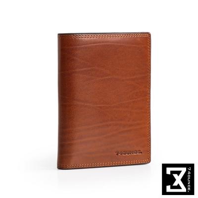 74盎司-Maroon馬鞍皮護照-收納夾-N-51