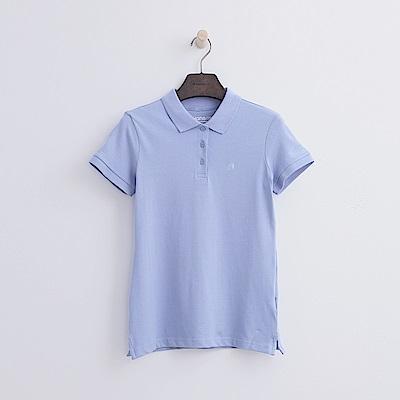 Hang Ten - 女裝 - 基本多彩POLO-藍色