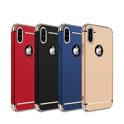 JOYROOM  iPhone X (5.8吋) 凌派系列 金屬漆電鍍手機