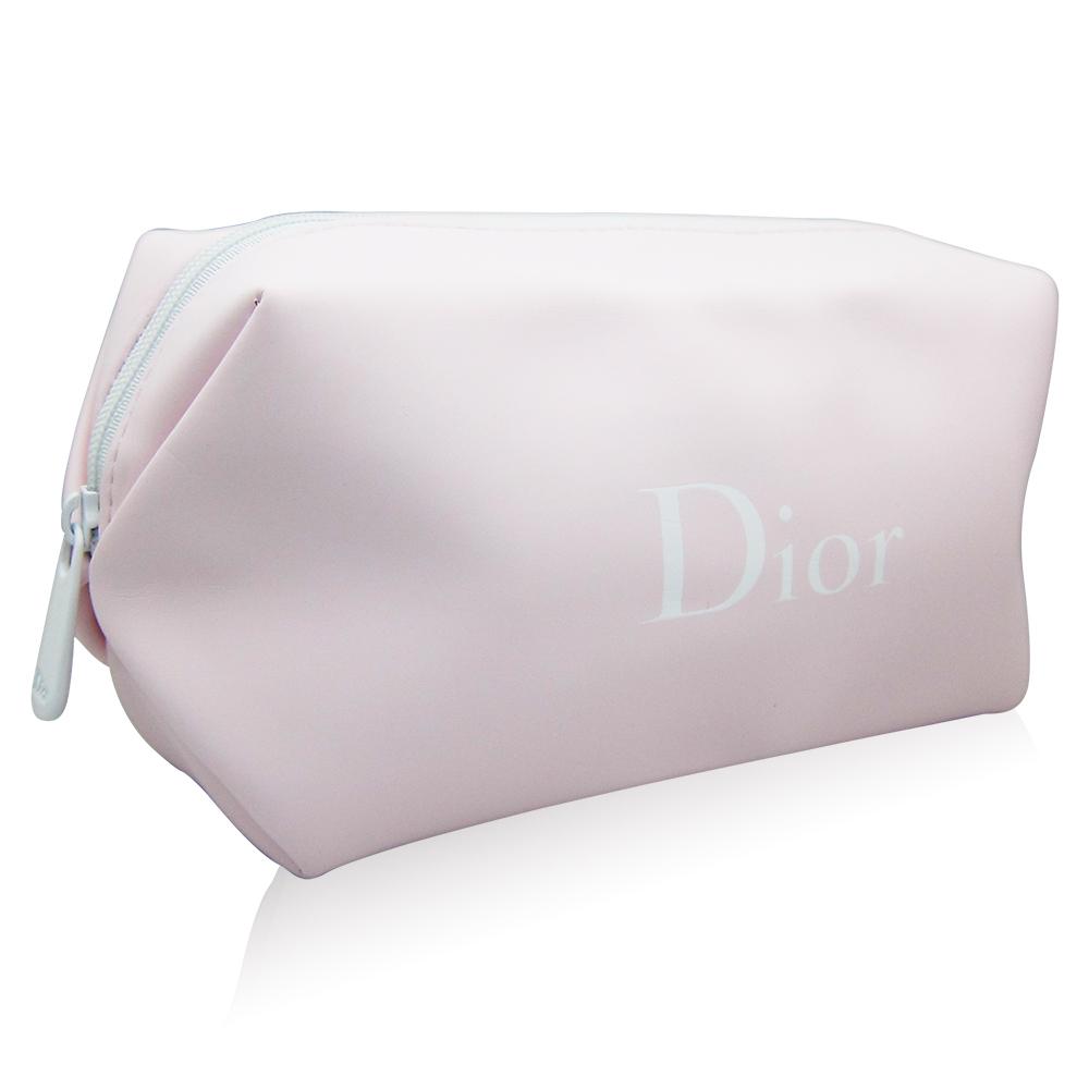 Dior迪奧花植水漾粉色化妝包