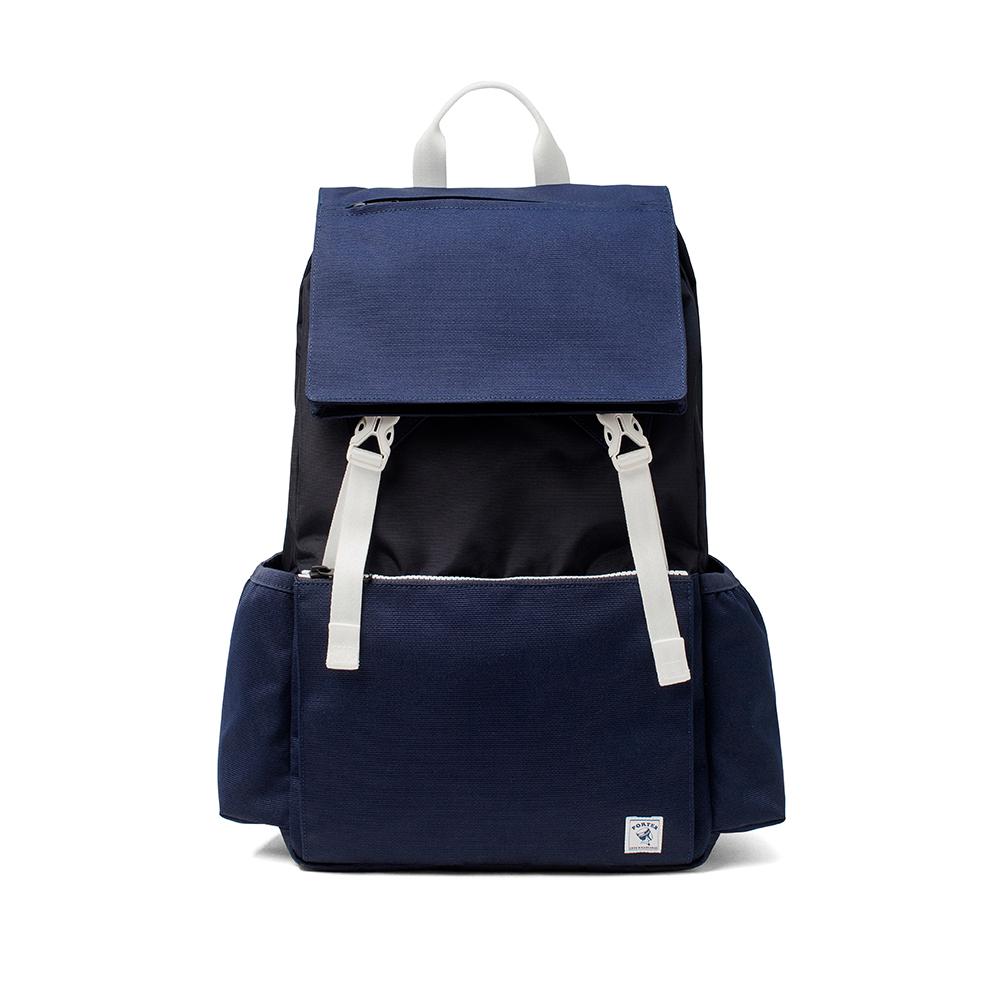 PORTER - 城市旅者UNION輕量型格後背包 - 藍