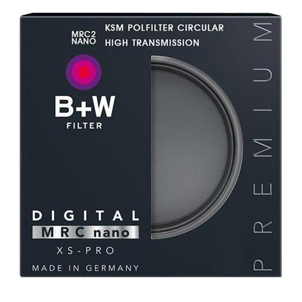 B+W XS-PRO KSM 67mm HTC-PL高透光凱氏偏光鏡(公司貨)