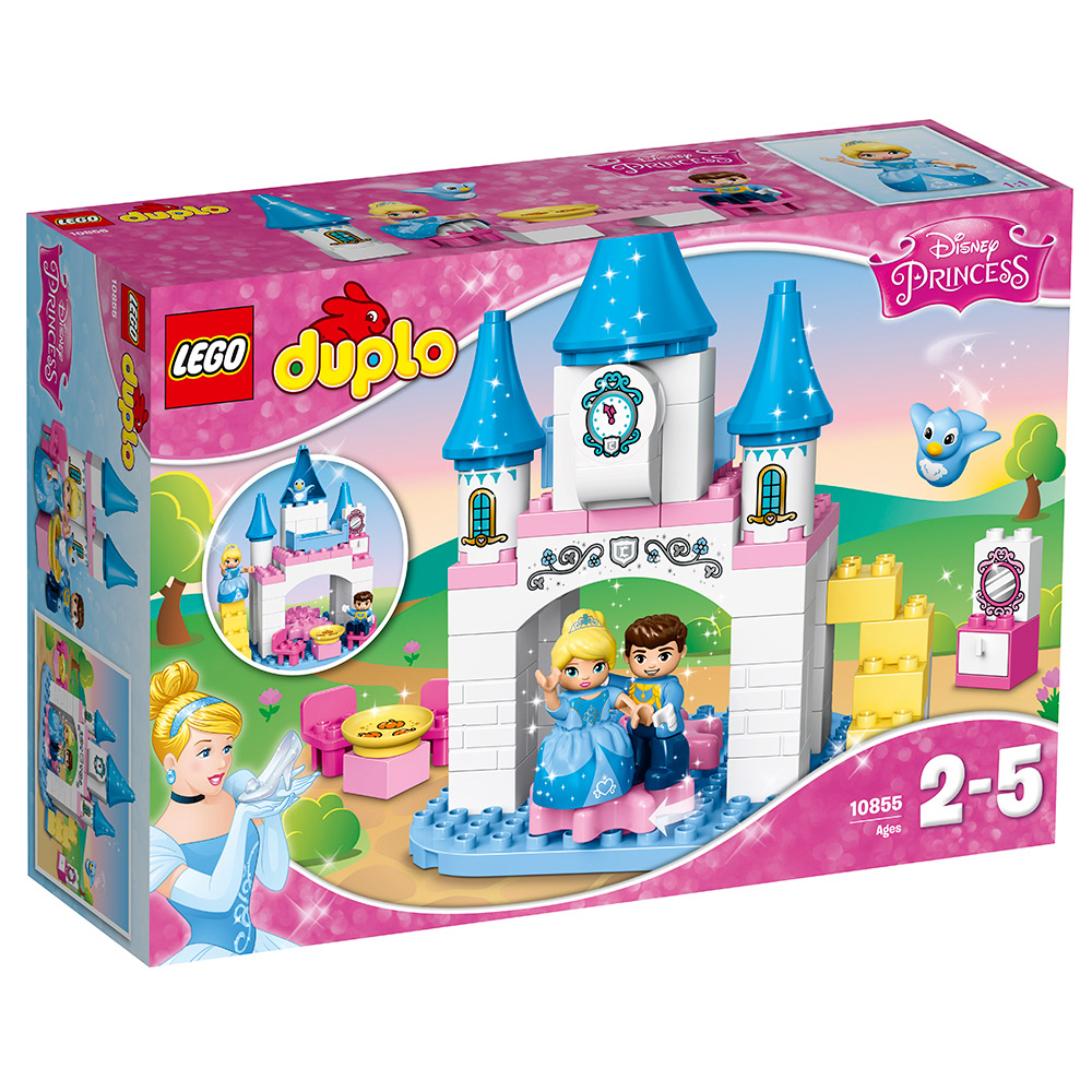 LEGO樂高 得寶系列 灰姑娘 10855 仙杜瑞拉的魔法城堡 (3Y+)