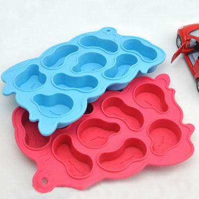 iSFun 扭曲時空 矽膠模型製冰盒 隨機色