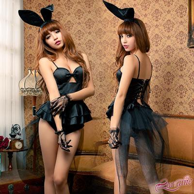 Lorraine 曼妙生姿!四件式兔女郎角色扮演服