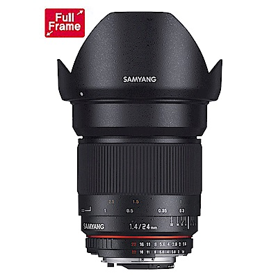 SAMYANG 24mm F1.4 ED AS IF UMC全幅手動鏡(CANON EF)