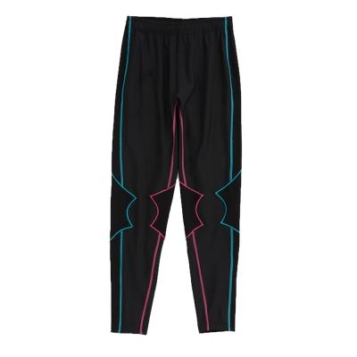 KAPPA義大利 舒適尚女吸濕排汗壓力褲(合身尺寸)1件 黑