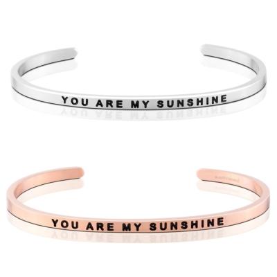 MANTRABAND You Are My Sunshine 你是我獨有的陽光 銀X玫瑰金