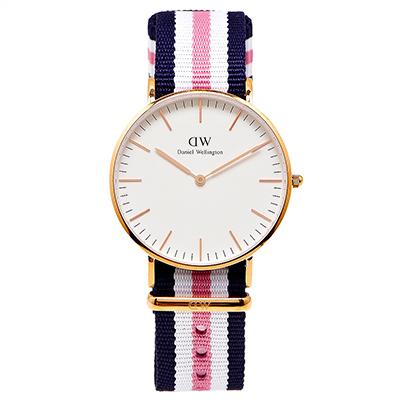 DW Daniel Wellington 經典Southampton手錶-白面/36mm