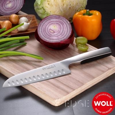 德國WOLL 冰鍛不銹鋼三德氣孔刀16.5cm