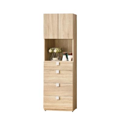 Bernice-納迪亞2尺四抽置物收納櫃-60x40x180cm