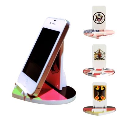 手機/平板可調角度萬用心型支架
