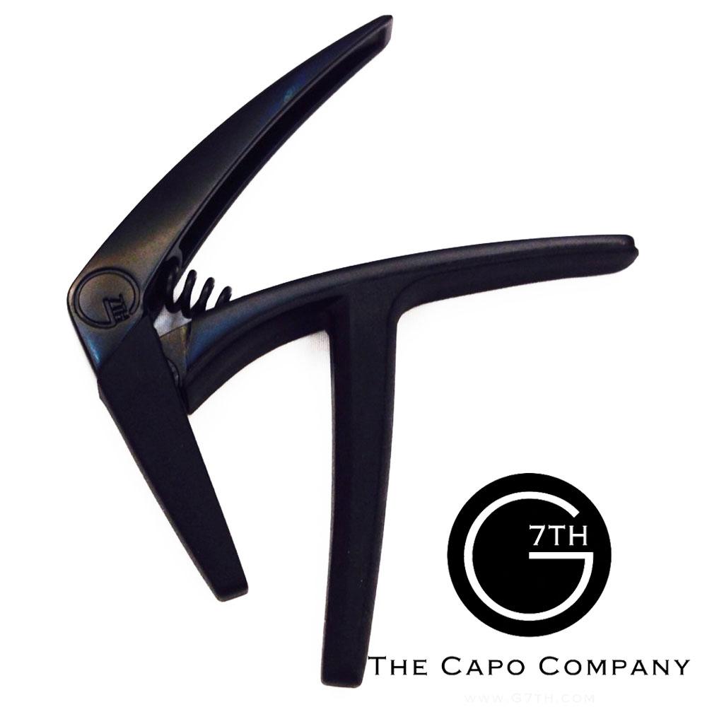 G7TH NV-6-BK Capo-Nashville系列 6弦專用 移調夾 黑色