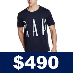 GAP LOGO標誌短袖T恤