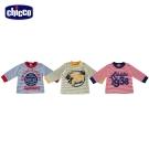 chicco美式字母條紋長袖上衣(12-24個月)