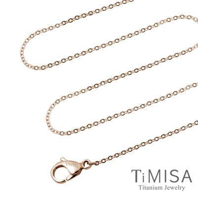 TiMISA 唯美 純鈦(極細鎖骨)項鍊B(雙色可選)