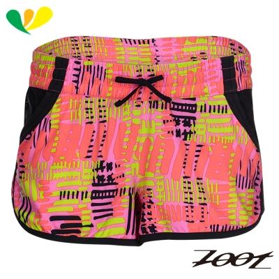 ZOOT 頂級極致冰涼感2吋綁帶式跑褲(女)(夢幻粉) Z1704011