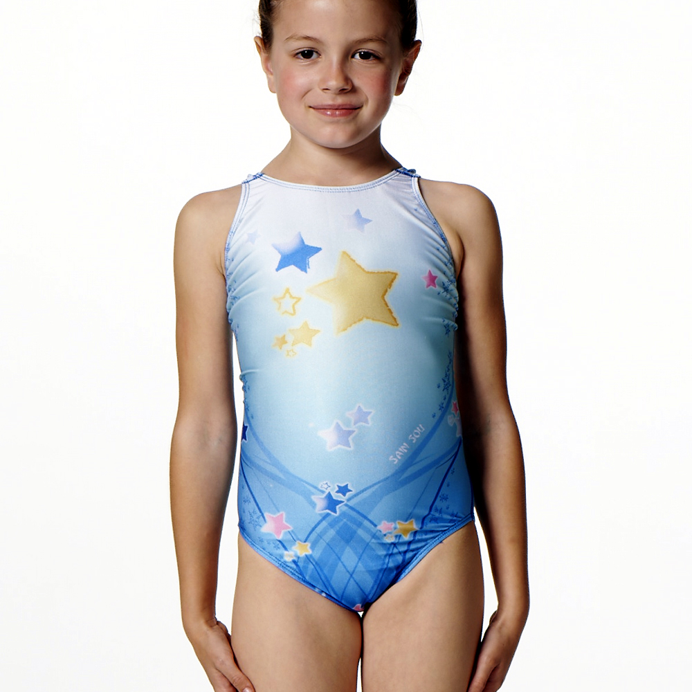 泳裝 連身式 明日之星 專業女童泳裝 聖手牌